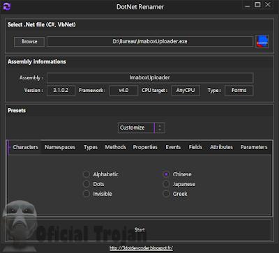 DotNetRenamer Crypter