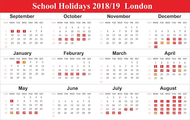 School Holidays 2019 London Free