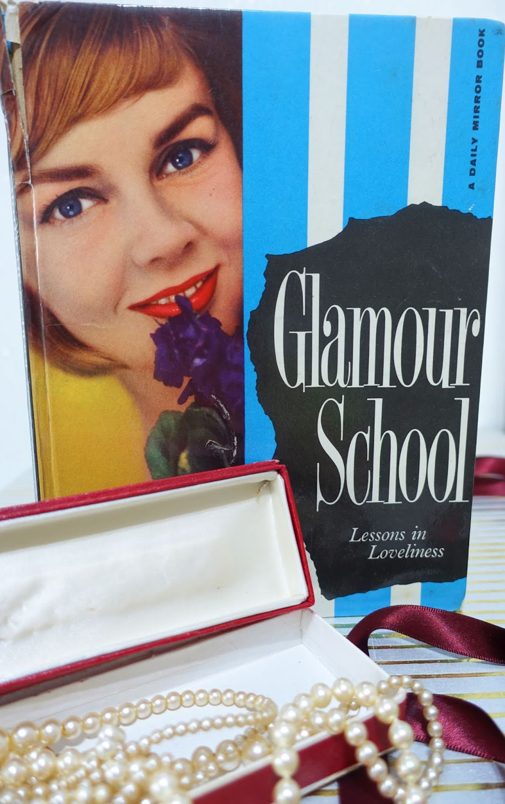 Glamour School, a beauty book dating from 1957, still has very relevant guidance and know-how today