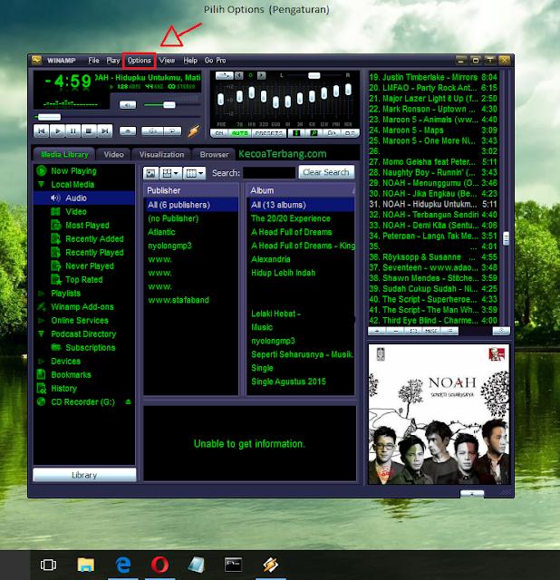 cara membuka file musik video mkv cara solusi video tidak bisa diputar di winamp agar 3gp mp4
