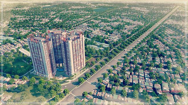 Phối cảnh dự án Imperial Plaza