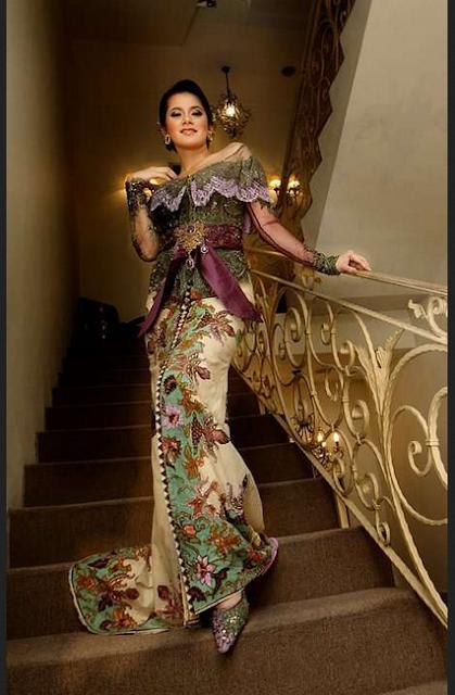 Model rok kebaya Victorian style