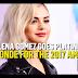 Selena Gomez in Platinum Blonde Hair at 2017 American Music Awards