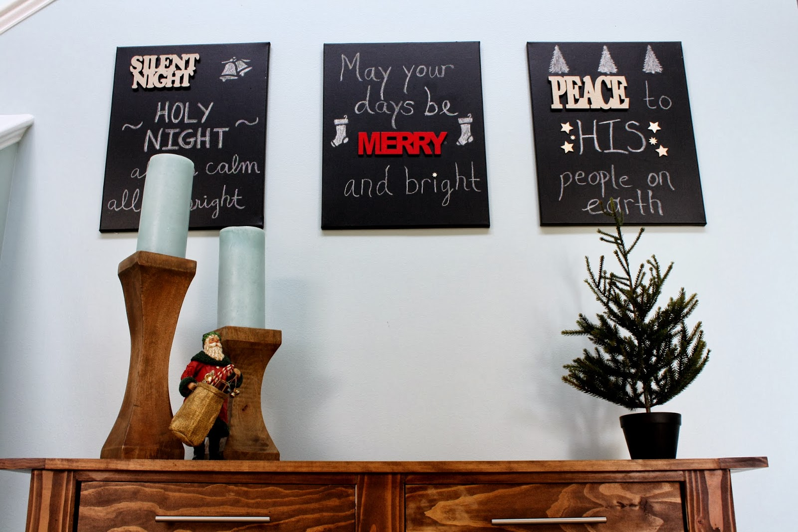 DIY Chalkboard Canvases in 30 Minutes for Under $30 | Designer Trapped