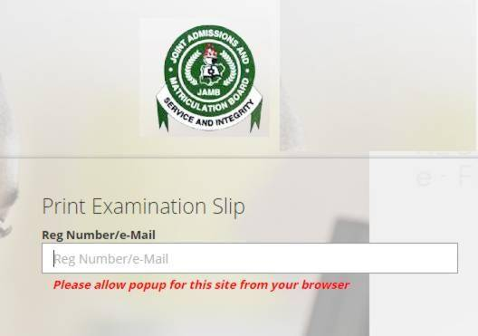 JAMB 2019 Exam Slip Reprinting Begins March 2nd.