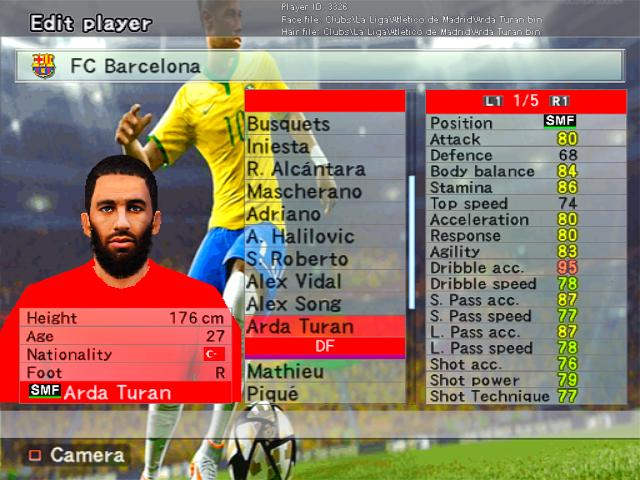 Pes 2016 camera for pes6 pes patch.
