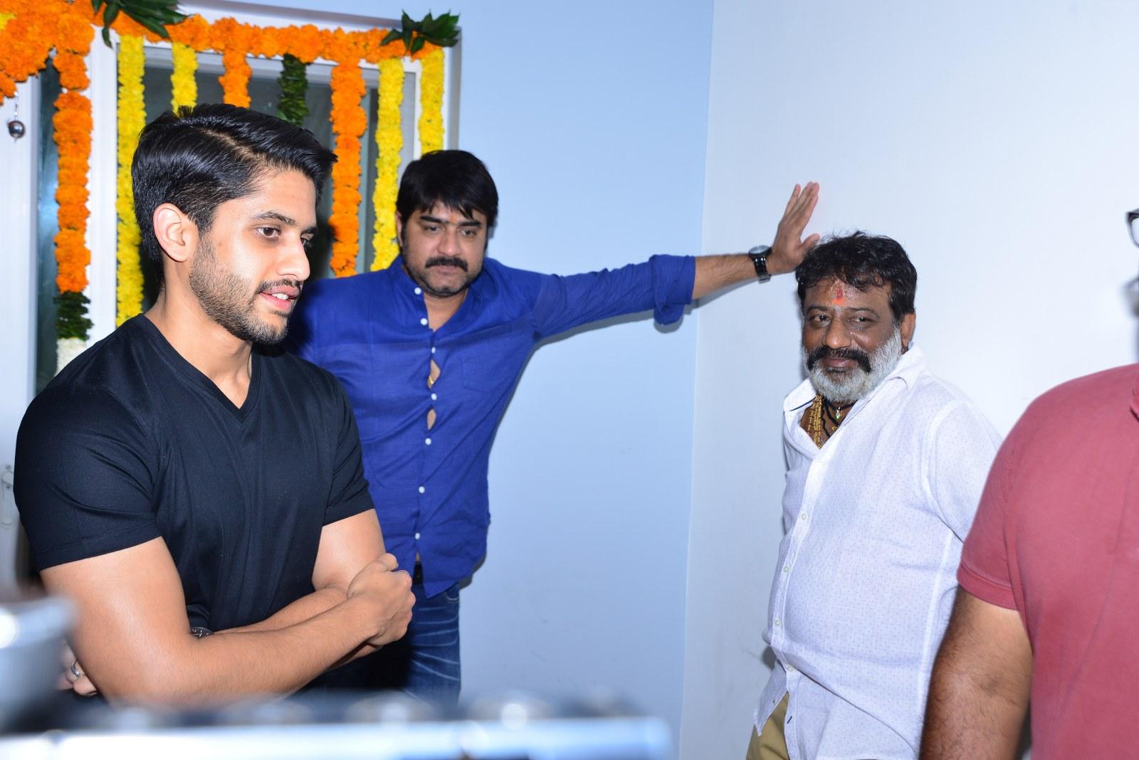 Chaitu Lavanya New Telugu movie Launch-HQ-Photo-13