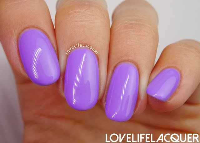SmoothNails Lavendel swatch