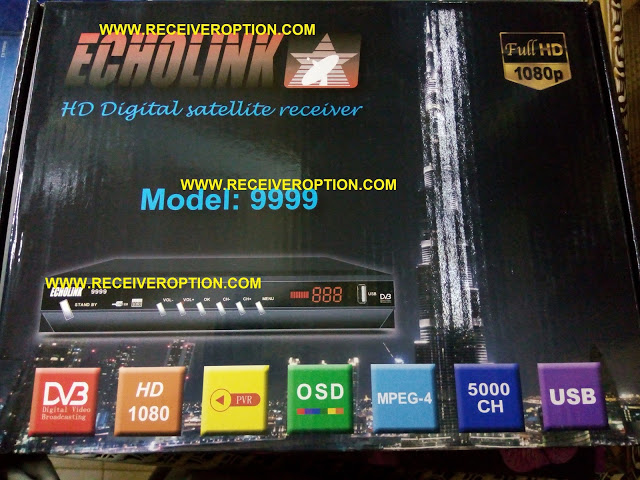 ECHOLINK MODEL 9999 HD RECEIVER AUTO ROLL POWERVU KEY SOFTWARE