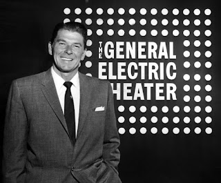 Ronald Reagan, future governor, futre president and host of General Electric Theater