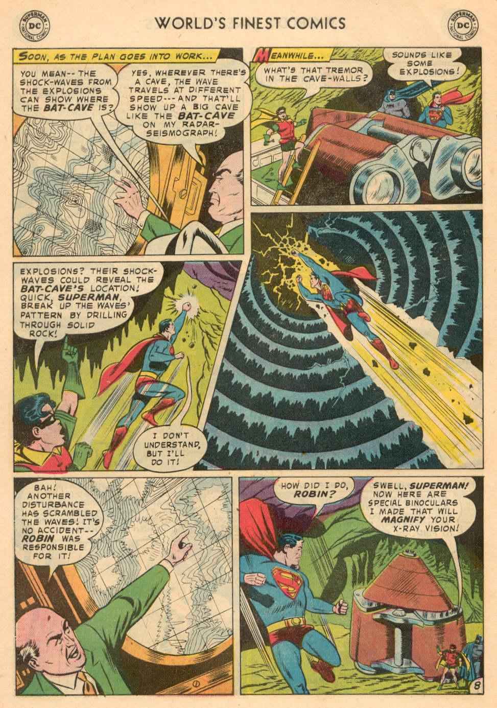 Read online World's Finest Comics comic -  Issue #93 - 10