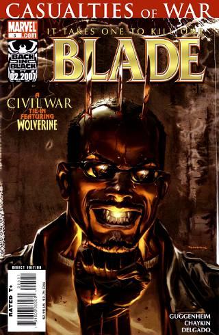 Civil War: Casualties of War - Blade #5 PDF