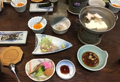 川古温泉 朝食