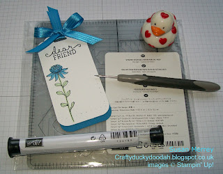 Stampin' Up! Made by Susan Simpson (Merrey) Independent Stampin' Up! Demonstrator, Craftyduckydoodah!, 1st Anniversary free gift, Paper Piercing Templates and Tool