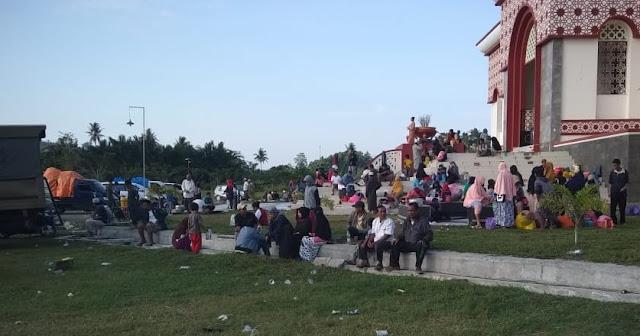Korban Gempa Warga Soppeng  Tiba di Pasangkayu, Ini Titik Penjemputan di Kabupaten Soppeng