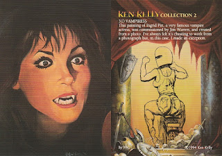 Vampiress trading card from Ken Kelly 2 set