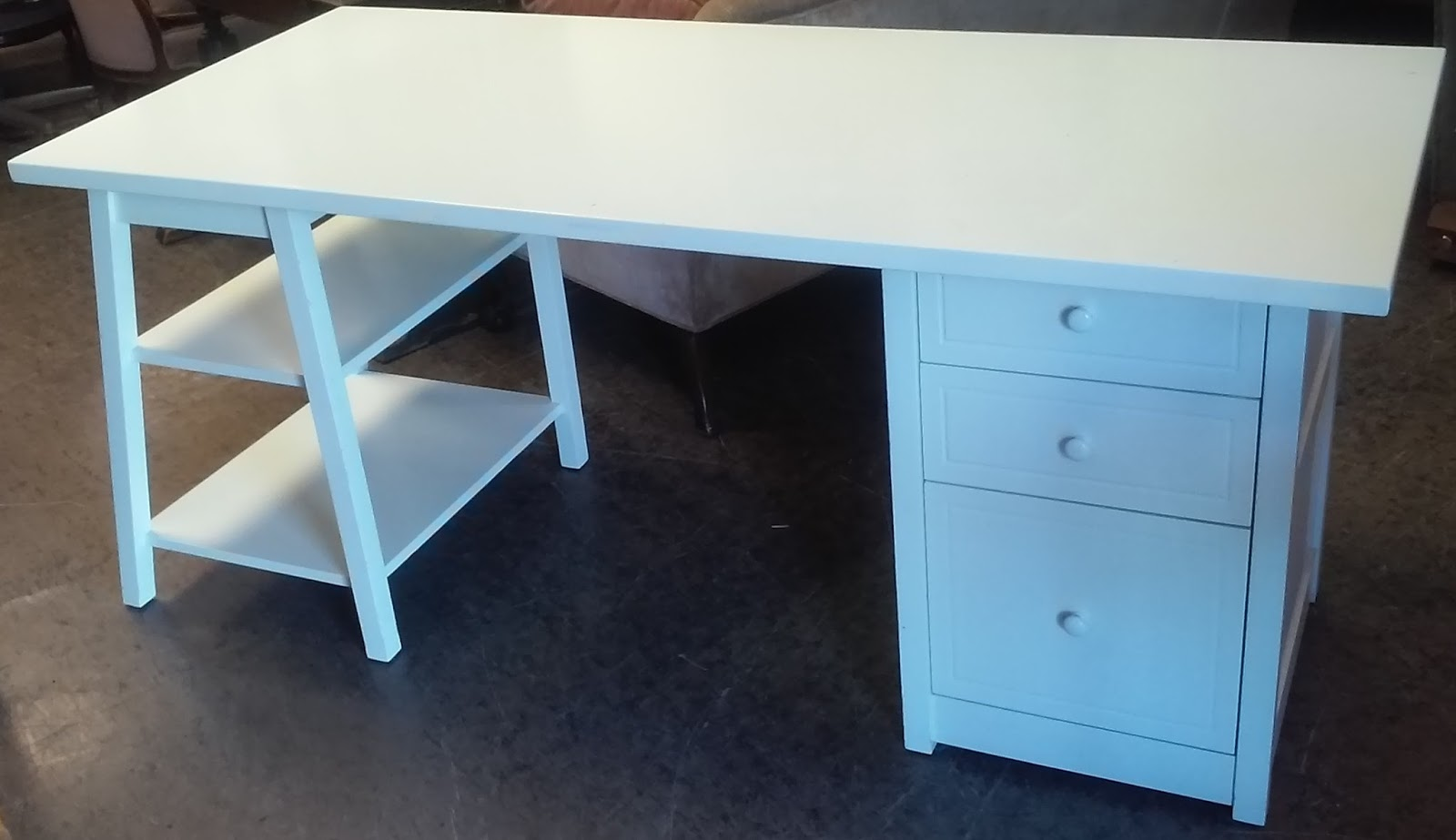 UHURU FURNITURE & COLLECTIBLES sold REDUCED Modern Modular Desk converts to nightstand and