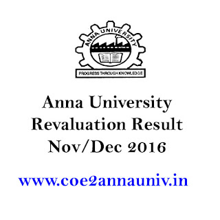 Revaluation Result 2016