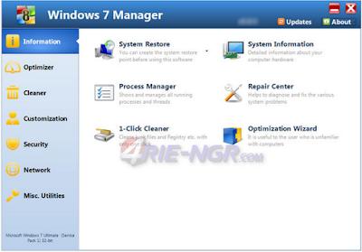 Windows 7 Manager 5.1.9 Final Full Terbaru