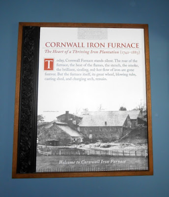 Cornwall Iron Furnace in Cornwall Pennsylvania