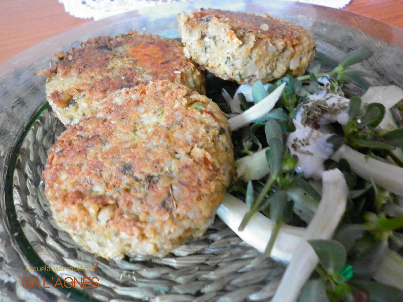 Cocina macrobi tica hamburguesa vegana for Cocina macrobiotica