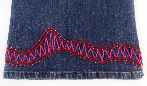 jeans, pattern, stitches, ideas, embellishment