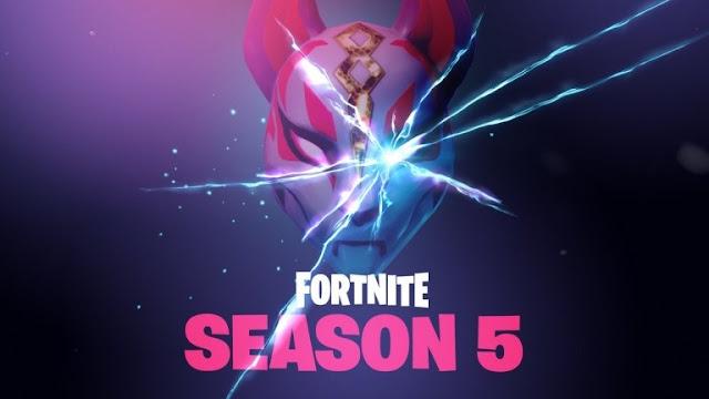 رسميا تحديث 5.0 للعبة Fortnite أصبح متوفر و إنطلاق الموسم الخامس ، إليكم جميع التفاصيل و المحتويات الجديدة ..