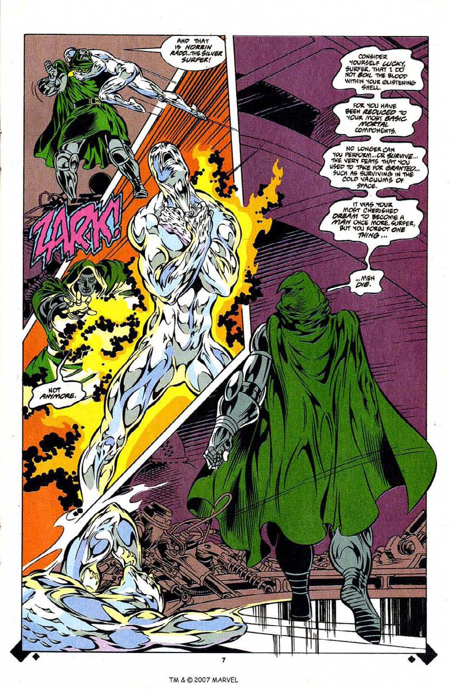Read online Silver Surfer (1987) comic -  Issue #107 - 9