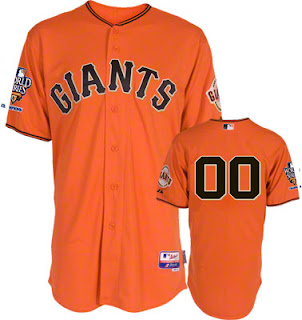 Big and Tall San Francisco Giants Alternate Jersey