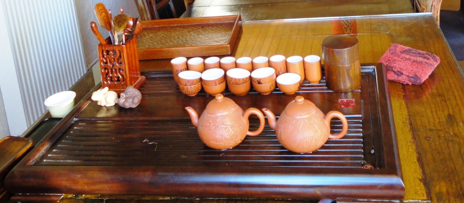 plateau thé chinois