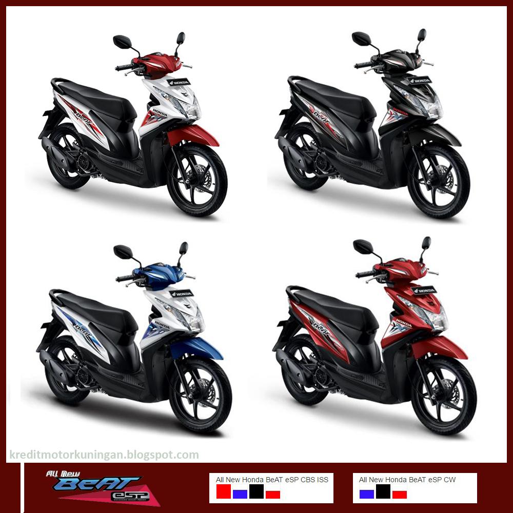 Kredit Sepeda Motor Beat All New Sporty Esp Cw Dance White Sragen Cicilan Angsuran Honda Terbaru Kuningan Jawa