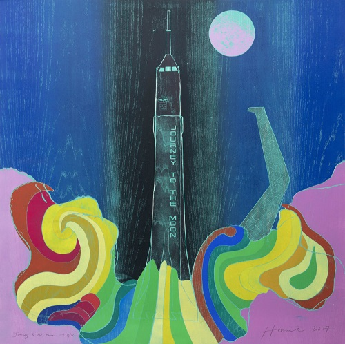 "Tom Hammick - ""Journey to the Moon"", 2017 