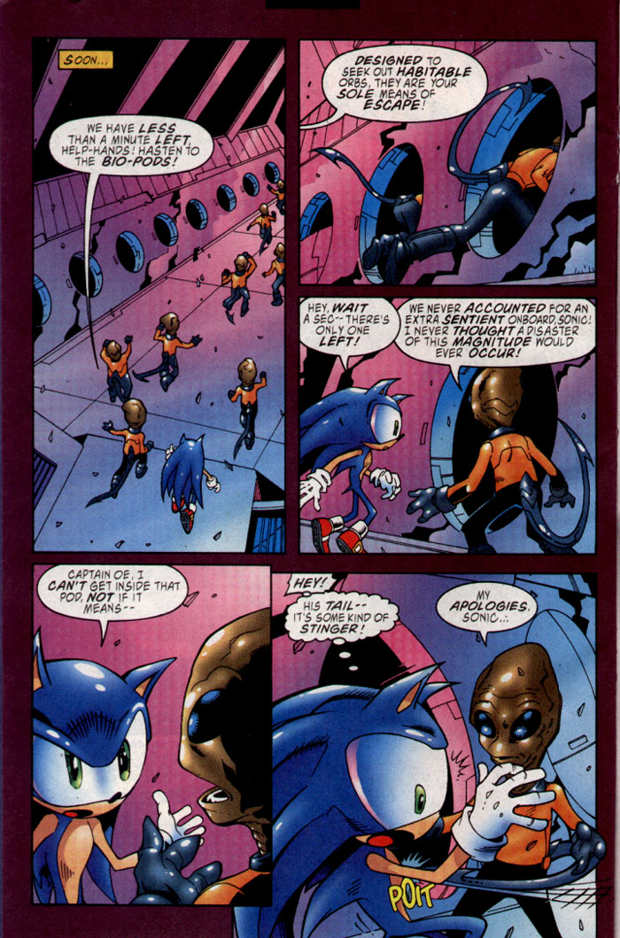 Read online Sonic The Hedgehog comic -  Issue #127 - 7