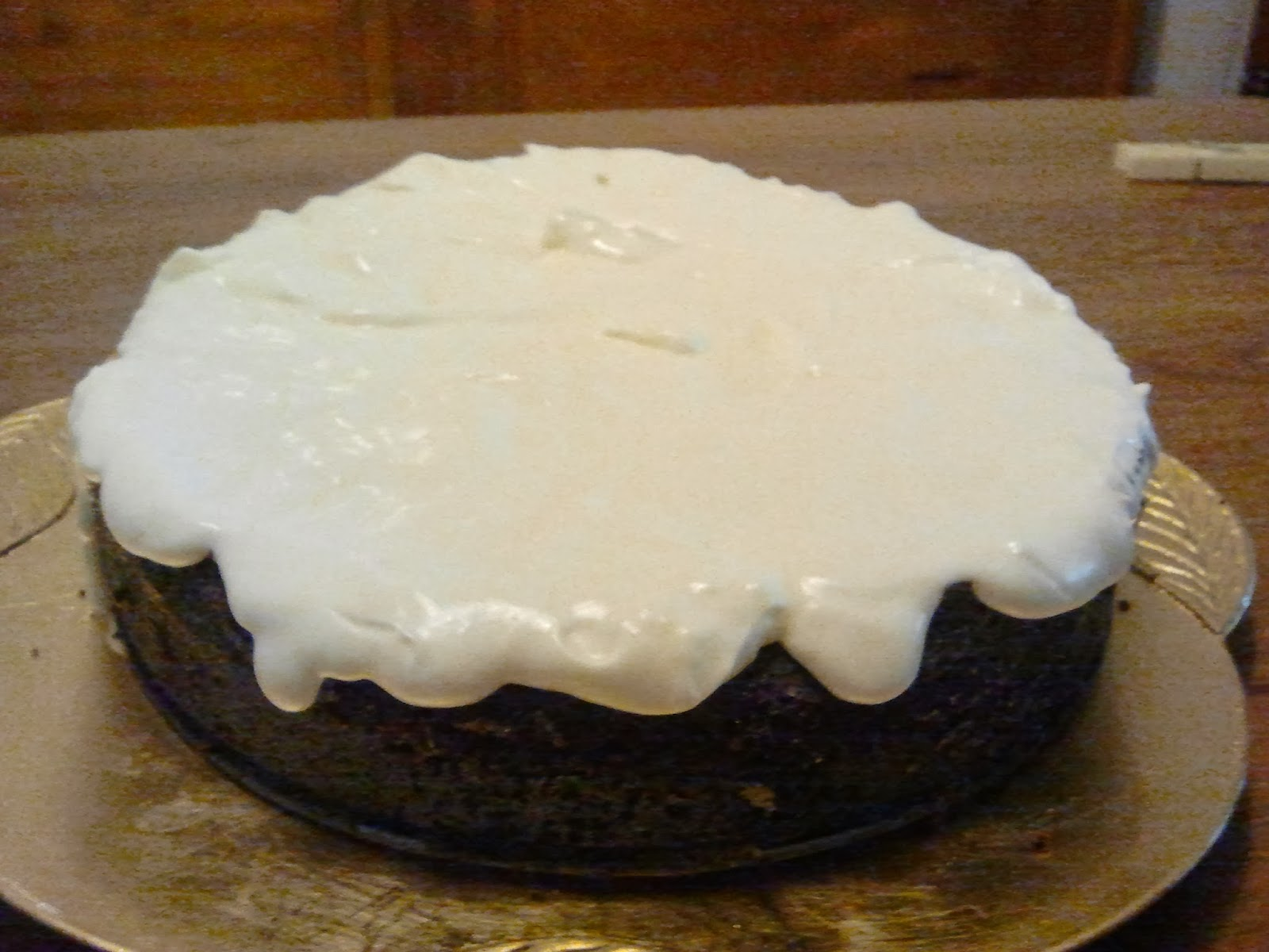 Tarta Guinness de chocolate