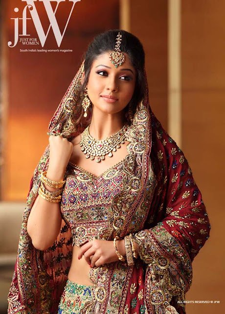 Nayanatara JFW Magazine Photoshoot 2012