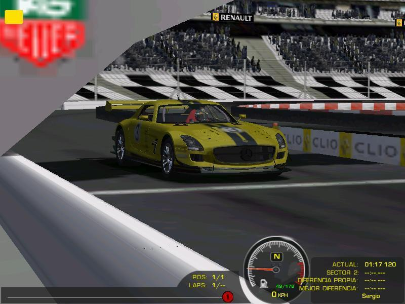 rFactor Mod - Mercedes SLS GT3 |