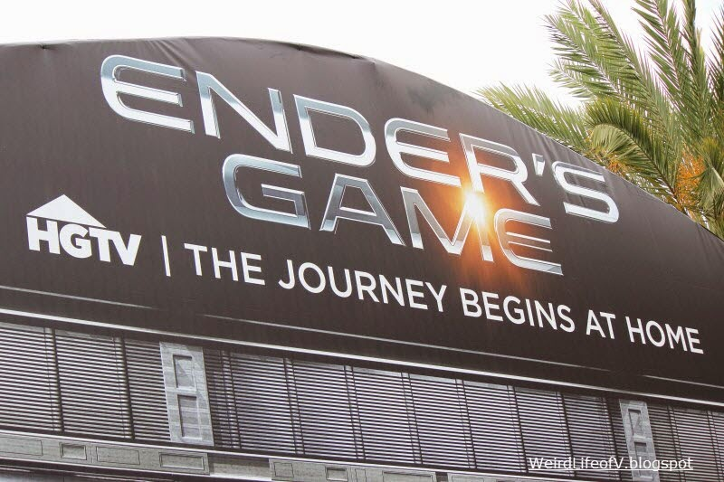 Ender's Game installation outside San Diego Comic Con 2013