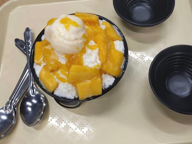 Mango Volcano Ice Cream Khas Thailand ~