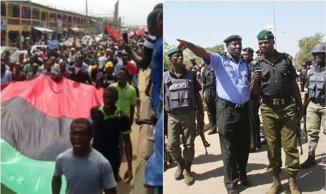 Police arrest 59 suspected IPOB members