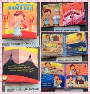 Gambar Buku Bantal Islami Ibadah Haji