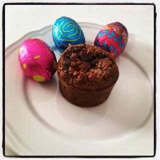 Moelleux au chocolat de Pâques sans gluten, sans beurre, sans sucres ajoutés