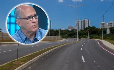 Avenida Mário Sérgio em Salvador - Barradão
