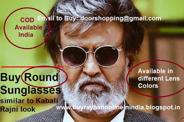 1eb018db6fd1 Kabali Rajni Superstar Round Style Sunglasses as he wearing so confidently  and making his persona so superb in the movie Kabali.