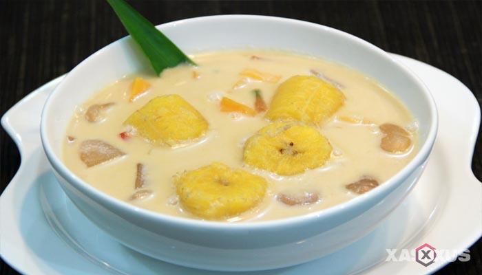 Resep cara membuat kolak pisang komplit