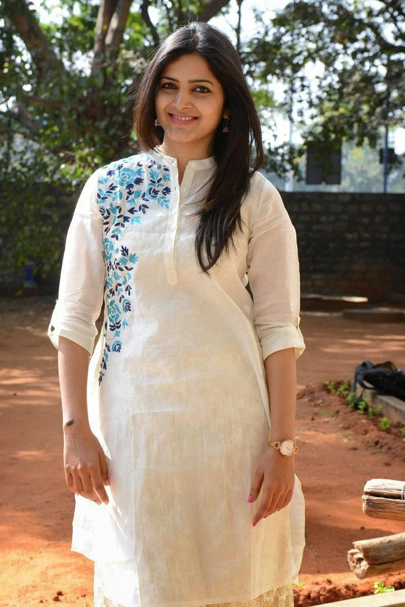 Pavani Gangireddy Hot Photos In White Dress