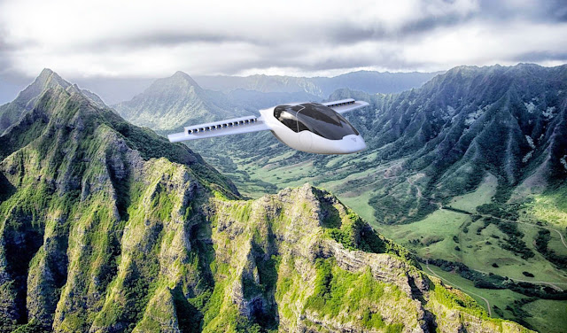 That's how personal aircraft should be: Electrical and vertical takeoff