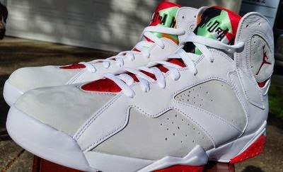 38e78d65baeb14 THE SNEAKER ADDICT  Air Jordan 7  Hare  2015 Retro Sneaker (Detailed ...
