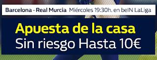 William Hill promocion copa Barcelona vs Murcia 29 noviembre