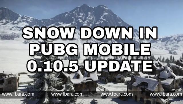 PUBG MOBILE UPCOMING UPDATE 0 10 5 - FBARA