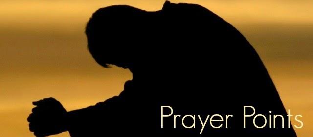 Pastor Coker: Shower of Blessings- ( prayer points)